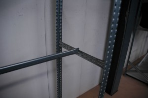Metalsistem legbordstelling accessoires hangstang