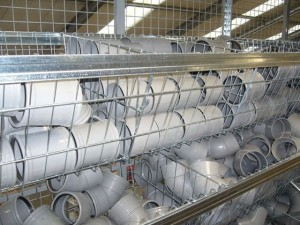 Metalsistem unirack legbordstelling draadmanden