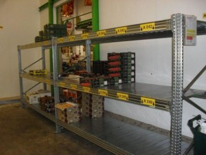 Metalsistem palletstelling super 456 grootvakstelling