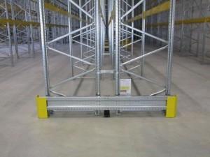 Metalsistem superbuild palletstelling aanrijdbeveiliging