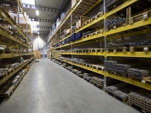 Metalsistem superbuild palletstelling